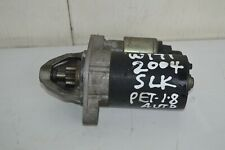 Mercedes SLK Starter Motor W171 1.8 Petrol Auto 2005 Engine Code M271