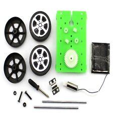 Puzzle DIY Hobby Mini IQ Toy Gadget Educational Kit Solar Powered Car