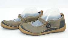 Merrell Paris Hemp Womens Sz 8.5 Mary Janes Comfort Leather Hiking Trail Shoes