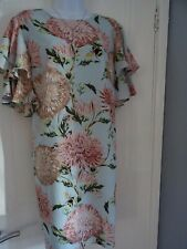 STUNNING LADIES  WAREHOUSE     SUMMER  POM POM  SHIFT     DRESS SIZE 14 NEW