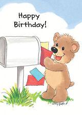 Suzy's Zoo Happy Birthday Greeting Card 6-pack 10380