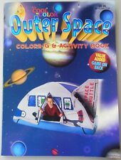 Outer Space Coloring and Activity Book - 110 pages