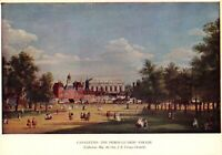 London Art Postcard, The Horse Guards' Parade by Antonio Canaletto 90X