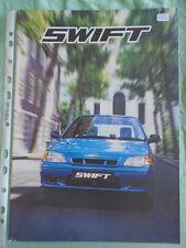 Suzuki Swift brochure Sep 1999