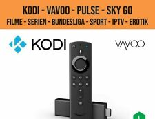Amazon Fire TV Stick HD 2 + KODI + Vavoo + Ghost + LIVE TV + SKY