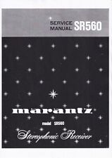 Service Manual-Anleitung für Marantz SR-560