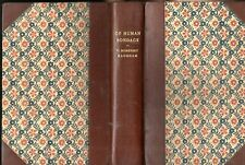 Of Human Bondage by Somerset Maugham 1915 edition rebound by Master book binder
