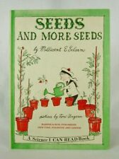 SEEDS AND MORE SEEDS Millicent E. Selsam & Tomi Ungerer 1959 later printing L1