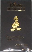 Donald Duck gold lapel pin Disney Movie Club exclusive New Rare