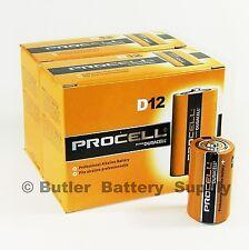 24 x D Duracell Procell Alkaline Batteries (PC1300, LR20)