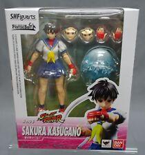 SH S.H. Figuarts Sakura Kasugano Street Fighter IV Bandai Japan NEW *** C