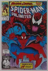 Spider-Man Unlimited 1 (1993) Maximum Carnage 1ST SHRIEK!! | 9.6 to 9.8: CGC it!