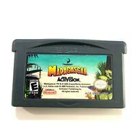 Madagascar (Nintendo Game Boy Advance, 2005) Game Tested & Working!