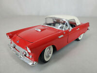 Road Tough Die Cast Convertible 1955 Ford Thunderbird 1:18 Scale Model 92068 Red