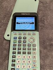 Texas Instruments Ti-84 Plus Ce Graphing Calculator - Green (84Plce/Tbl/1L1/Y)