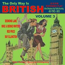 DESMOND LANE, RED PRICE, RAY ELLINGTON + 1 BRITISH ROCK 'N' ROLL Vol 3 JIVE EP