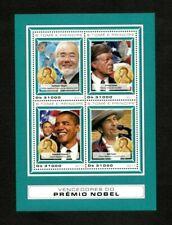 Sao Tome & Principe 2009 - Nobel Prize, Obama, Bob Dylan - Sheet of 4 - MNH