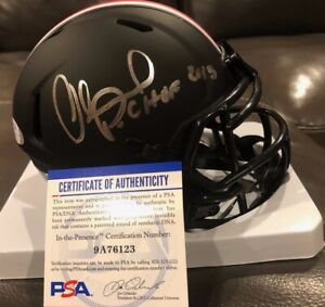 ORLANDO PACE Signed Autographed Auto Ohio State Buckeyes Mini Eclipse Helmet PSA