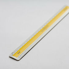"Blundell Harling Verulam Scale Rulers 300mm/12"" (Old Stock/Minor discolouration)"