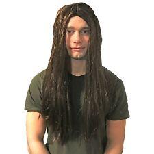 Men Fancy Dress Music Party Ozzy Osbourne Straight Long Fake /& Artificial Wig UK
