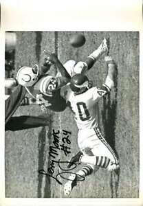 Lenny Moore JSA Coa Signed 9x11 Original Colts Photo Autograph