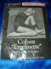 Vintage Ergee Ergelinette Feinstrumpfhose safari Collant 20 den Tights OVP