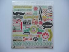 """MME FIND FIND YOUR WINGS AND FLY KIT """"UP & AWAY"""" 1 12X12 LIFE TRAVEL DIECUTS"""