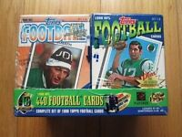1996 Topps Complete Cereal Box Factory Sealed Football Set