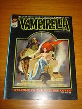 VAMPIRELLA #15 FN- (5.5) JANUARY 1972 WARREN HORROR MAGAZINE