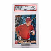 2011 Bowman's BEST Prospect Mike Trout #BBP9 GEM MINT PSA 10 RARE!!!! LOW POP RC