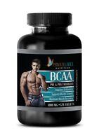 amino acids capsules - BCAA 3000mg - amino acids bcaa - 1 Bottle 120 Tablets