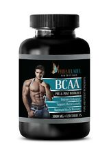 amino acids capsules - BCAA 3000mg - essential amino acid complex - 120 Tablets
