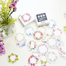 45pcs/box Paper Floral Writable Packing Label, For Baking Package Stickers Decor