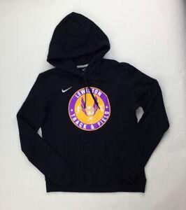 Nike Lewiston Bangals Club Fleece Training Hoodie Men's S M Black 835585-010