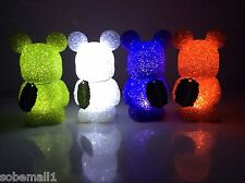 Disney Vinylmation Light-Up 7'' Figures Set of 4 Red,Green,White,and Purple