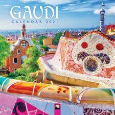 Gaudi 2021 Art Calendar - Square Wall Calendar #clbx26