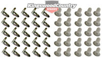Holden Door Trim Clips +Plugs / Socket HQ HJ HX HZ WB LC LJ LH LX UC x50