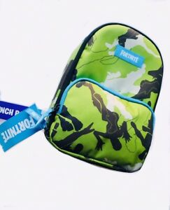 Fortnite Battle Royal Official Merchandise Boys Camo Insulate Lunch Box NWT