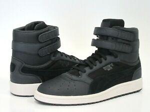 PUMA Men's Sky II Hi Color Blocked Lthr Sneakers, Black, Size 7 M US