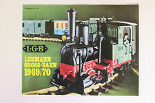 LGB Book - Brochure - Catalogue Folding de 1969/70 Collector Gauge G