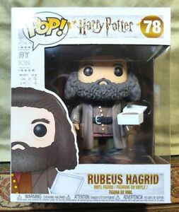"Funko POP! Harry Potter Rubeus Hagrid with Birthday Cake 6"" Vinyl Figure # 78"