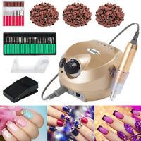 Professional Nail File Kit Electric Nail Drill Acrylic Manicure Pedicure Machine