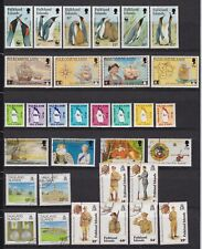 Falkland Islands postfr./mnh + gest./used Lot  Michel 161 €