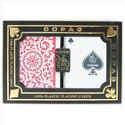 Copag Poker Size Regular Index 1546 Playing Cards (Red/Blue) New