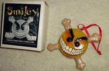 Smiley Psychotic Button Christmas Ornament #ed LED MIB CHAOS COMICS FREE SHIP
