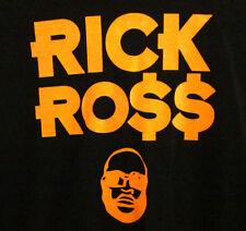 RICK ROSS logo OG T shirt 2XL rap XXL hip hop TEFLON DON urban Florida tee 2010