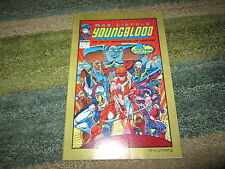 1ST EVER IMAGE COMIC PRODUCED YOUNGBLOOD #1 RARE GOLD RIM 2ND PRINTING !!!