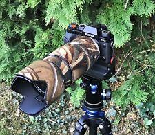 Fuji 50 140mm Neoprene Lens Protection Camouflage Cover : Harvest camo (premium)