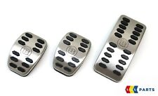 NEW GENUINE SMART FORTWO FORFOUR 453 BRABUS SILVER SPORT PEDAL SET A4532904300