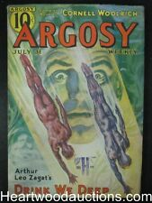 Argosy Jul 31 1937  Cornell Woolrich, Robert Carse, Arthur Leo Zagat - High Grad